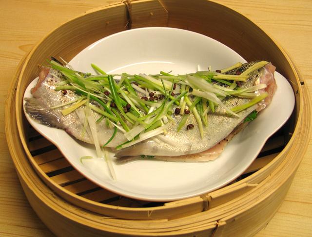 Fisch gedämpft